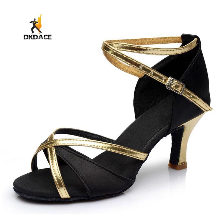 Popular Latin / Ballroom / Tango Dance Shoes for Women Girls Ladies Practice Shoes S …