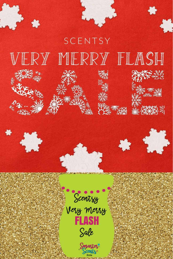 IT'S A VERY MERRY FLASH SCENTSY SALE! – Save up to 80% ONLINE! That's right, see …