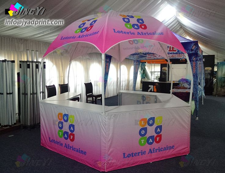 Diameter 3X3M Custom Full Color Print Dome Advertising Sales Promotion Calotte O …