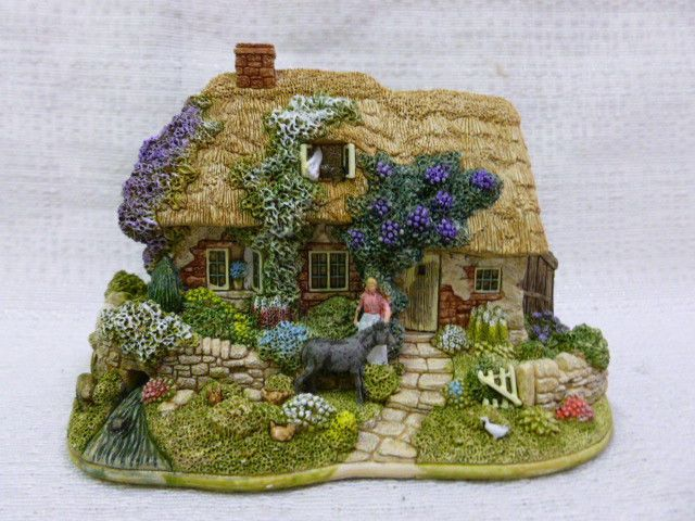 Lilliput Lane Paradise Lost Cottage 2002 Sales Increase Special Edition L2612