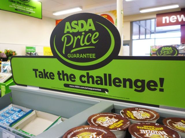 ASDA: Sales Increase in Asda Price Guarantee. Photo of Graham …
