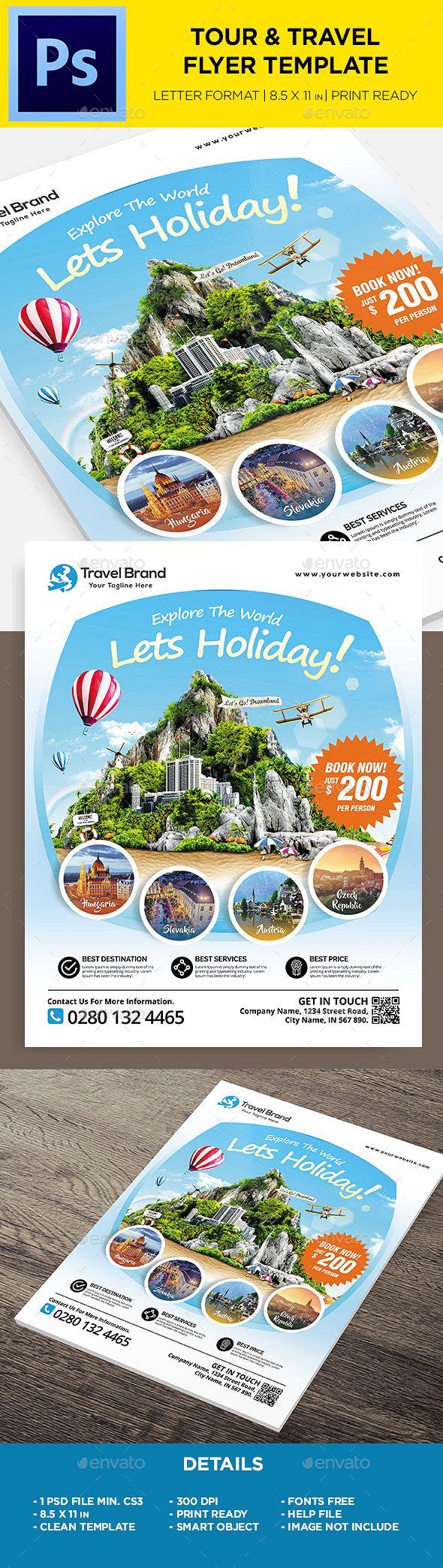 #Travel #Flyer – Holidays