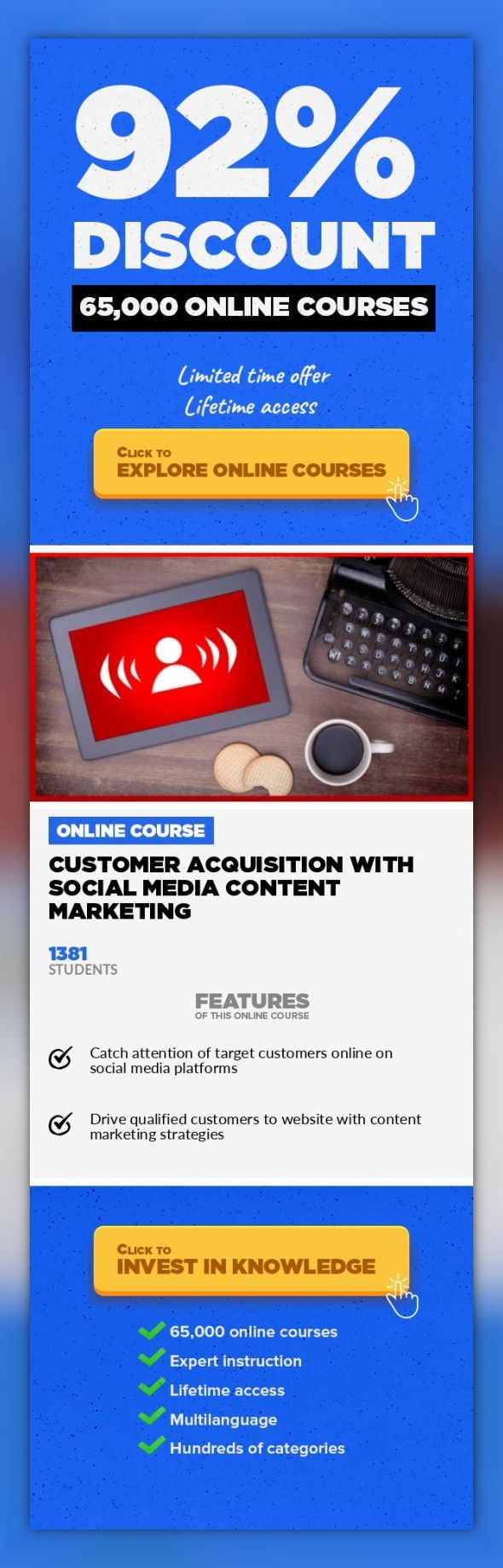 Customer Acquisition with Social Media Content Marketing Sales, Business #online …
