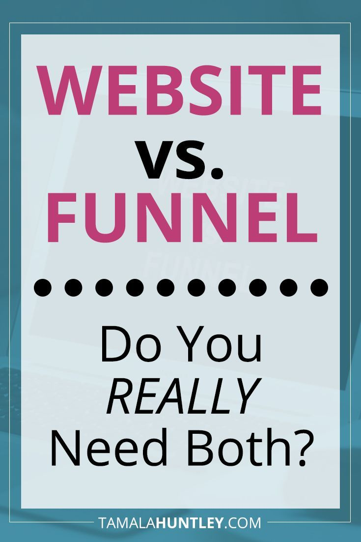 Website vs Funnel: A website one will not make you money … no matter how much …